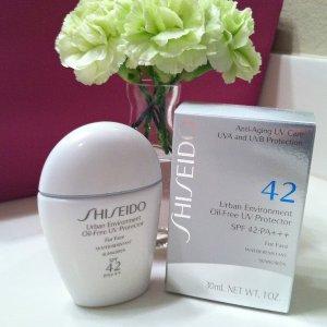 $32 Shiseido Urban Environment Oil-Free UV Protector SPF 42 @ Bergdorf Goodman