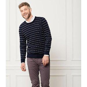 Textured Striped Sweater - JackSpade