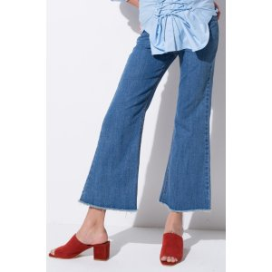 FRS Mid Wash Flared Denim Jeans