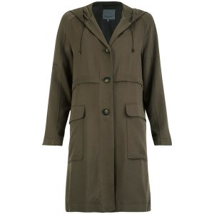 Great Plains Women's Dixie Mac Coat - Grey - Free UK Delivery over £50