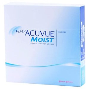 1-DAY ACUVUE MOIST 90 Pack Contact Lenses by Johnson & Johnson Vision Care, Inc. - AC Lens