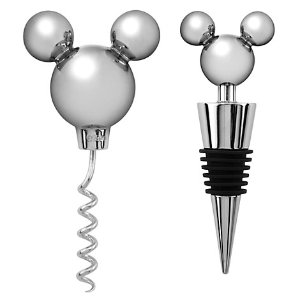 Mickey Mouse Icon Corkscrew and Bottle Stopper Set -- 2-Pc. | Disney Store