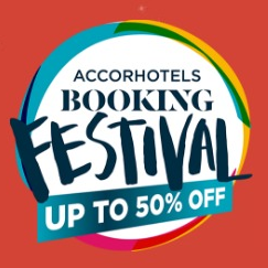 Worldwide Up To 50% Off Booking Festival @ Accor Hotels