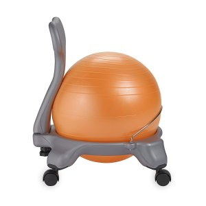 闪购!Gaiam 儿童健身平衡球椅