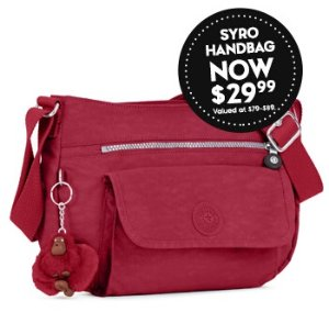 From $29.9948 Hours Handbags Flash Sale @ Kipling USA