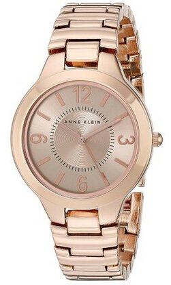 $47.22 Anne Klein Women's AK/1450RGRG Rose Gold Tone Bracelet Watch