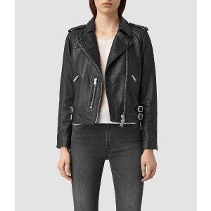Watson Leather Biker Jacket