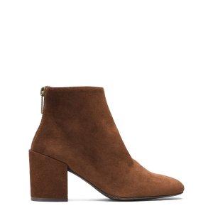 Bacari Block Heel Booties - Shoes   Shop Stuart Weitzman