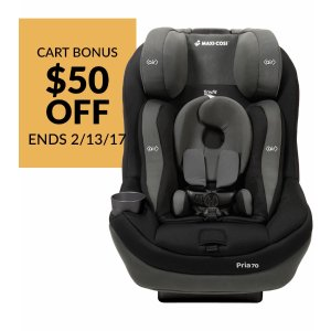 Maxi Cosi Pria 70 Convertible Car Seat With Tiny Fit 2015 Total Black