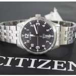 Citizen Men's Quartz Stainless Steel Casual Watch, Color:Silver-Toned (Model: BI1050-81F)