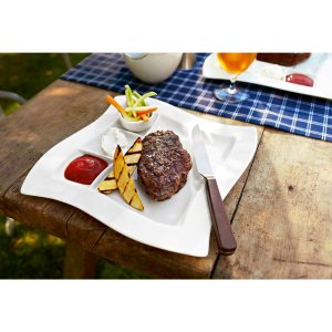 New Wave Grill Plate 10 1/2 in - Villeroy & Boch