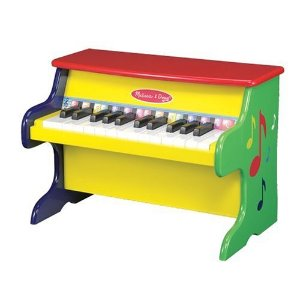 Amazon.com: Melissa & Doug Learn-To-Play Piano With 25 Keys and Color-Coded Songbook: Melissa & Doug: Toys & Games