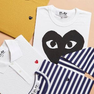 Extra 10% Off Comme de Garcons Play Men Clothes Purchase @ Saks Fifth Avenue