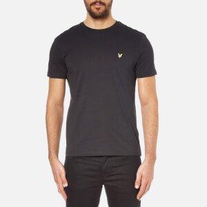 Lyle & Scott Men's Crew Neck T-Shirt - True Black Clothing   TheHut.com