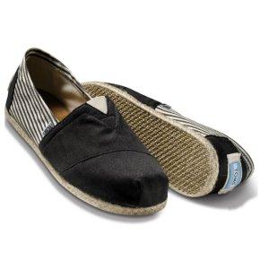 UNIVERSITY BLACK ROPE SOLE MEN'S CLASSICS