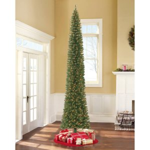 $149 Holiday Time Pre-Lit 12' Brinkley Pine Artificial Christmas Tree, Clear Lights
