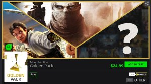 3 for $0.5GMG Golden Pack (The Line, Sid Meier's Pirates! & Mystery Game)