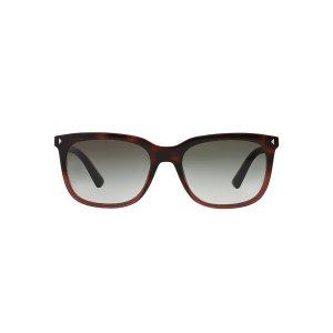 Prada PR 12RS JOURNAL 56 Grey & Tortoise Sunglasses | Sunglass Hut USA