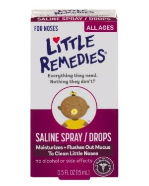 $1.79Little Remedies Noses Saline Spray/Drops, 0.5 Ounce