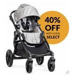 Baby Jogger City Select Stroller 2015 Silver