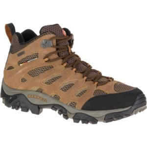 Men - Moab Mid Waterproof - Earth | Merrell