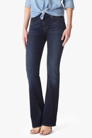 From $39.61 7 For All Mankind Women's Kimmie Bootcut Slim Illusion Jean
