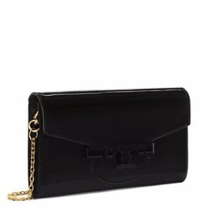LENA MIRRORED METALLIC CLUTCH
