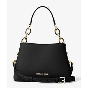 MICHAEL MICHAEL KORS Portia Small Saffiano Leather Shoulder Bag