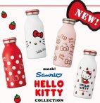 直邮中美!$25.59 / RMB170 MOSH合作款 Hello Kitty 限定 不锈钢 保温保冷杯 牛奶杯 特价