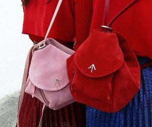 MANU ATELIER  mini 'Fernweh' shoulder bag On Sale  @ Farfetch