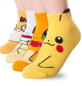 $11(reg.$16.5) Dani's Choice Famous Japanese Animation Print Crew Socks