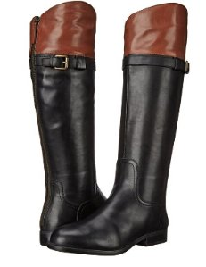 From $27.13 Nine West Women's Velika Leather Knee High Boot