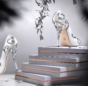 New In Ralph Russo Shoes @ Harrods