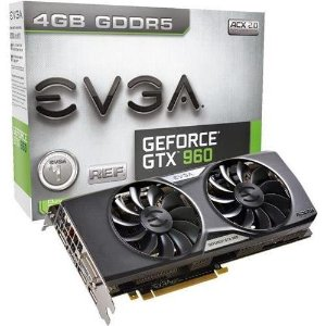 EVGA GTX 960 SSC 2GB 128-bit GDDR5 ACX 2.0+ Graphic Card