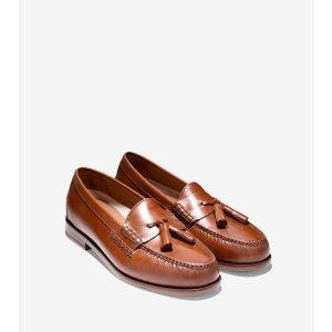 Pinch Grand Tassel Loafers in British Tan   Cole Haan