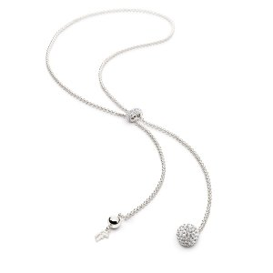 BLING CHIC NECKLACE Silver Plated