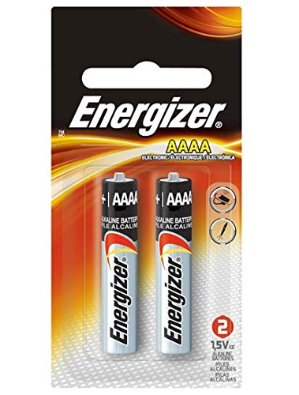 $1.23 Energizer Max AAAA Size Batteries, 2-Count