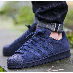 Men's adidas Superstar Mono Suede Casual Shoes