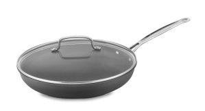 $26.99 Cuisinart 622-30G Chef's Classic Nonstick Hard-Anodized 12-Inch Skillet with Glass Cover