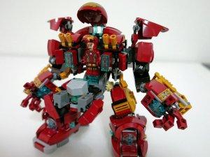 $25.99 LEGO Super Heroes The Hulk Buster Smash 76031