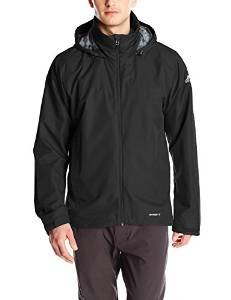 $30.00 adidas Outdoor Men's 2 L Wandertag Solid Jacket, Medium, Black