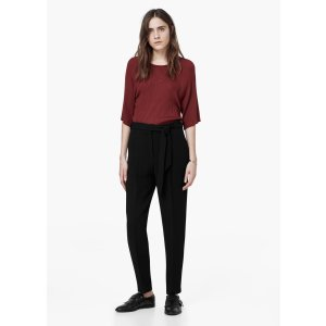 Decorative pleat trousers - Woman | OUTLET USA