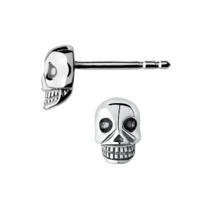 Mini Skull Stud Earrings | Women Earrings, Official Links of London