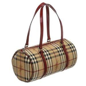 multicolour Leather BURBERRY Handbag - Vestiaire Collective