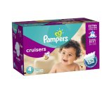 Amazon.com: Pampers Cruisers Diapers Economy Plus Pack, Size 4, 152 Count (One Month Supply): Health & Personal Care