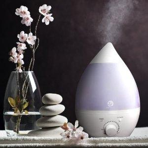 Lowest price! $22.49 Sol Beauty® Premium Cool Mist Ultrasonic Humidifier