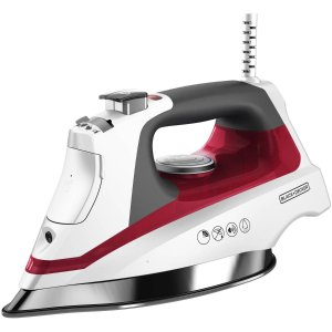 $29.94 BLACK + DECKER Allure Professional Steam Iron, Stainless Soleplate, D3033R