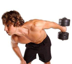 健身必备!$14.92Gold's Gym 40磅重哑铃健身套装