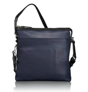 $157.46 Tumi Mission Bartlett Leather Crossbody
