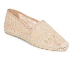 $84.99 Diane von Furstenberg  Cairo 1 Lace Espadrille Flats @ Saks Off 5th